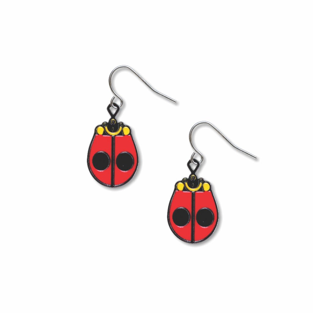 ladybug-giclee-print-earrings-photo