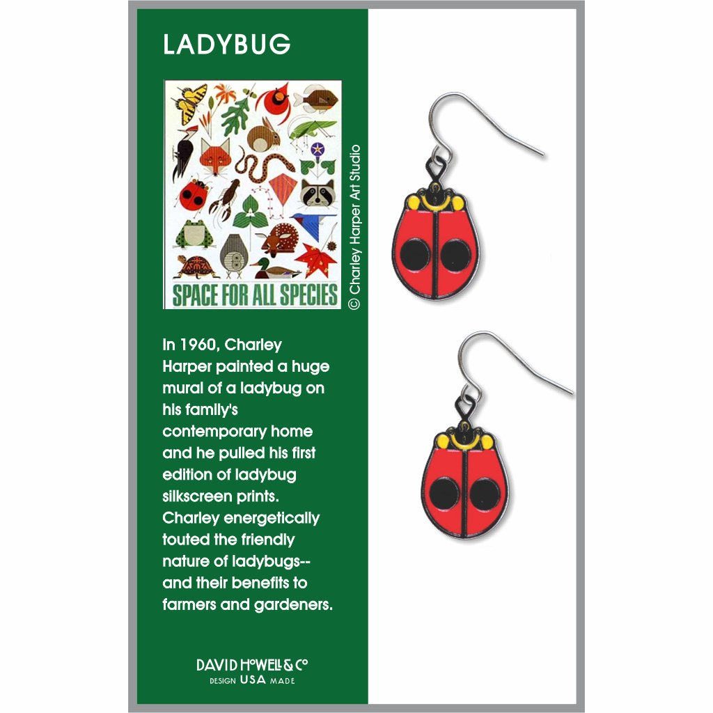 ladybug-giclee-print-earrings-photo-2