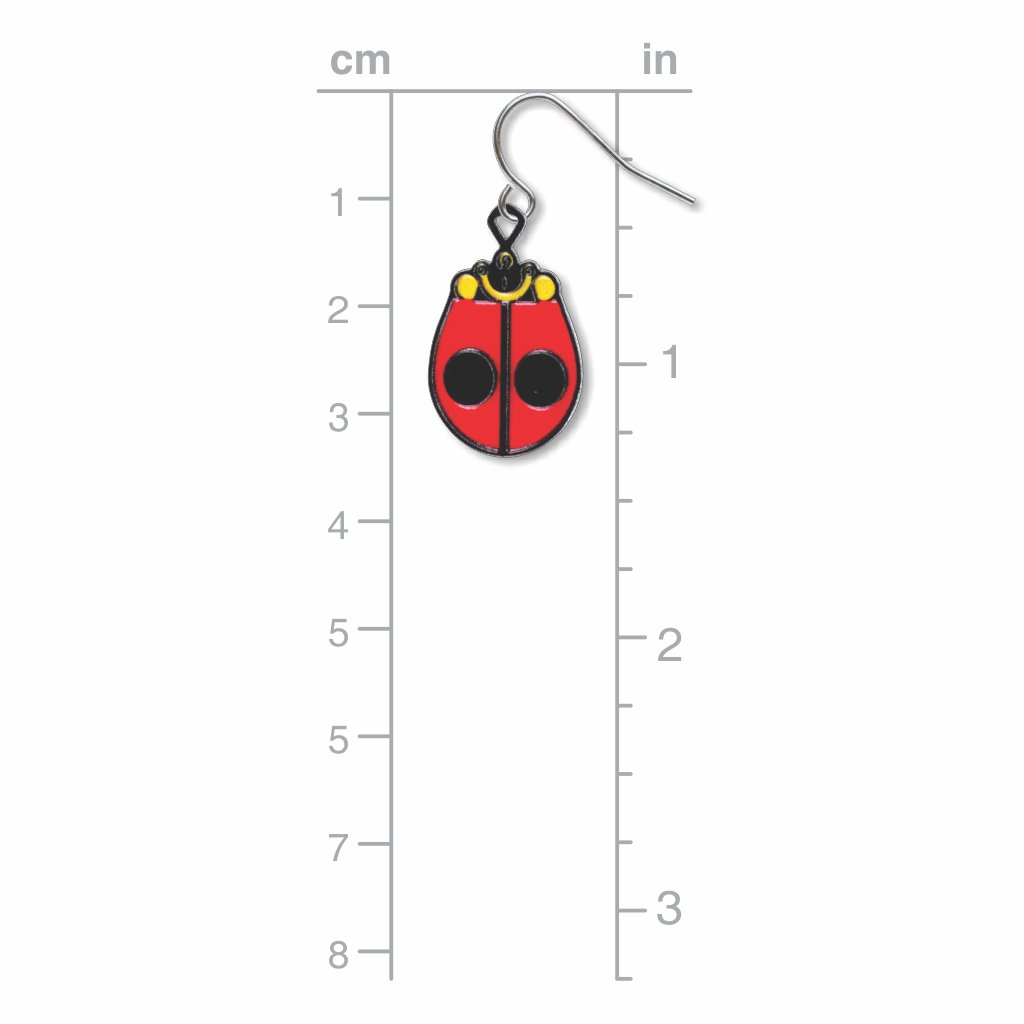 ladybug-giclee-print-earrings-photo-3
