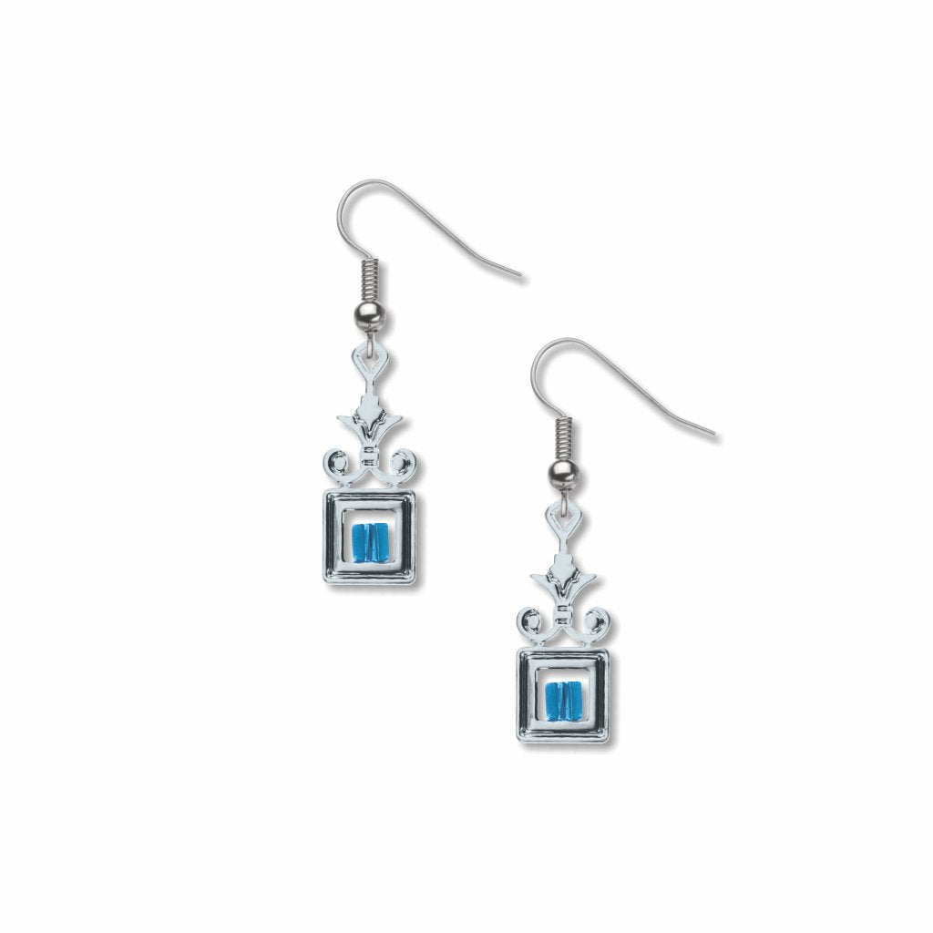 wrought-iron-blue-bead-earrings-photo