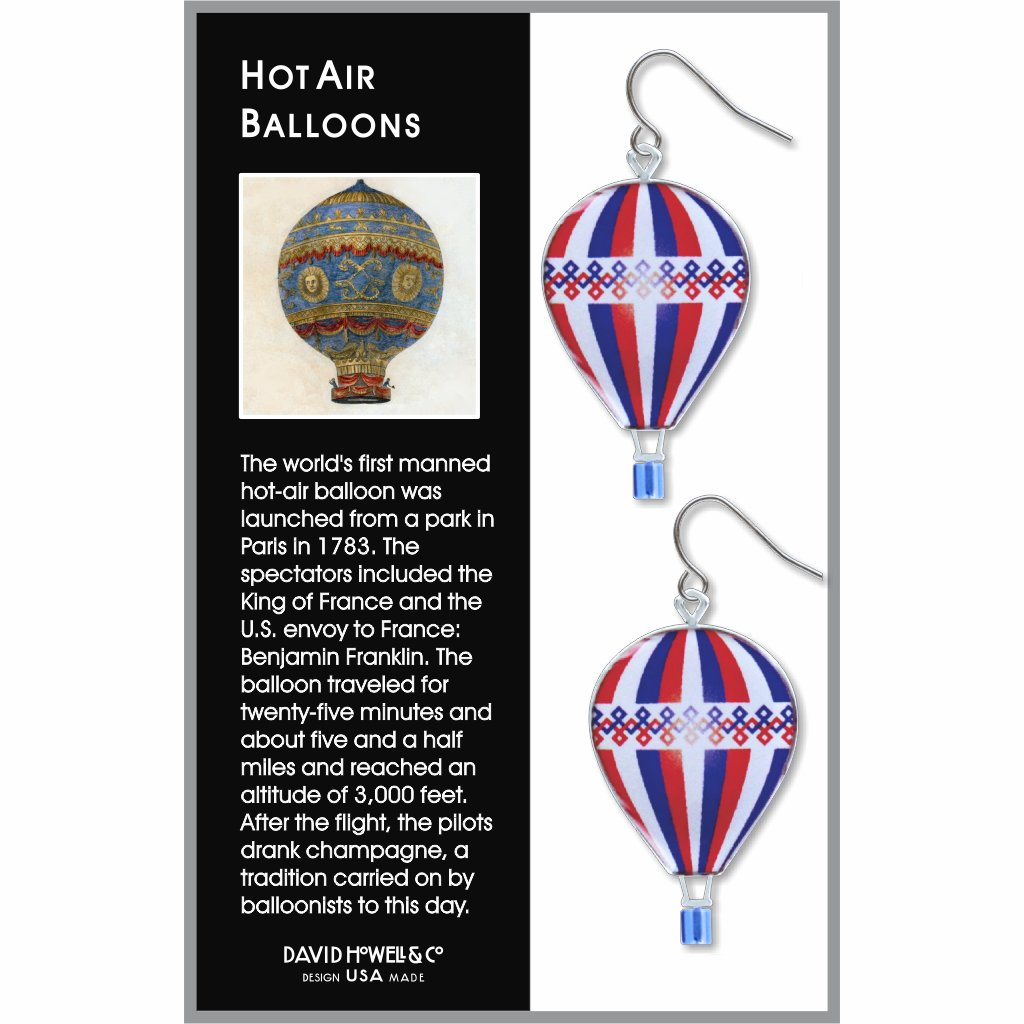 hot-air-balloons-giclee-print-domed-earrings-photo-2