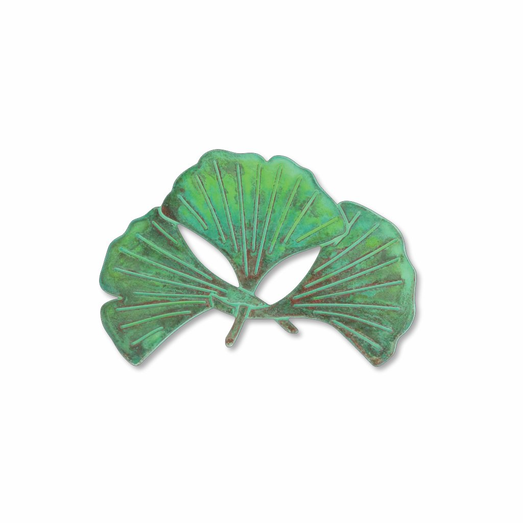 ginkgo-leaf-verdigris-finish-photo