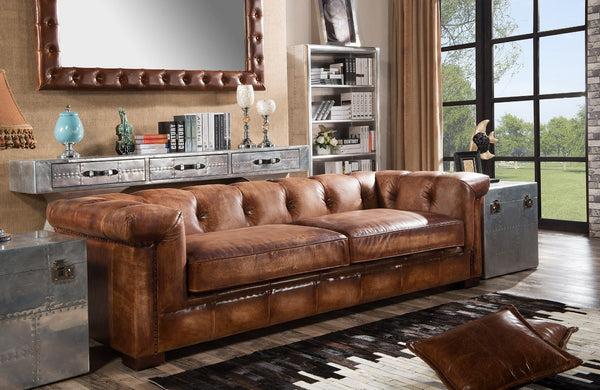 Vintage Leather Sofas Manchester