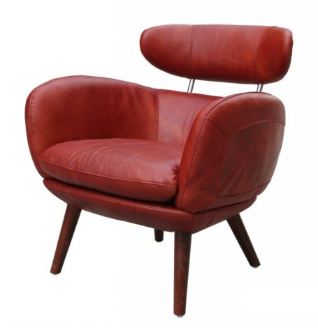 Althea Vintage Leather Armchair