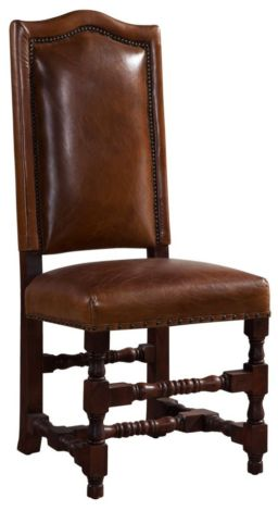 Denholme Cheltenham Vintage Distressed Leather Dining Chair