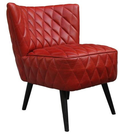 Cocktail Quilt Vintage Leather Chair