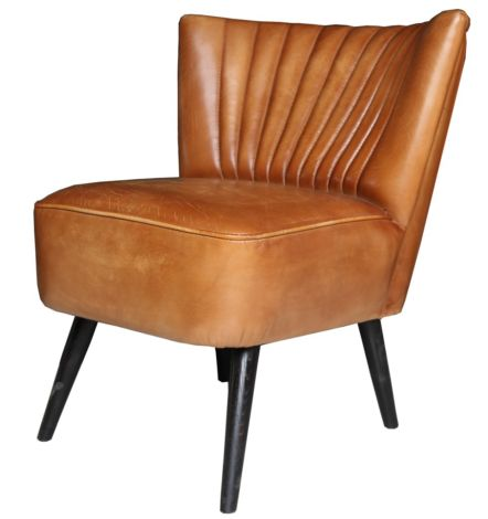 Arden Vintage Leather Chair