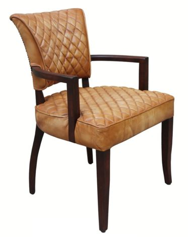 Saddle Vintage Leather Dining Chair