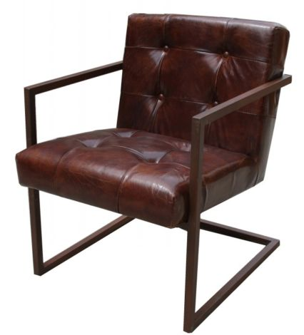 Trentino Vintage Leather Armchair