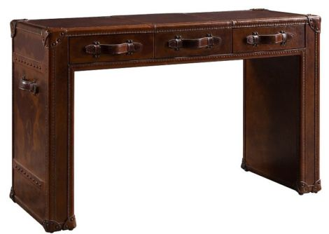 Arden Vintage Leather Desk