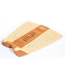 AQSS - BROWN STRIPE 3 PIECE TRACTION PAD - The Surfboard Warehouse Australia