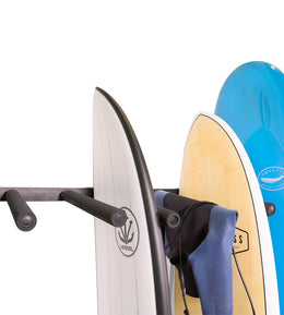 VERTICAL SURFBOARD WALL RACK - The Surfboard Warehouse Australia