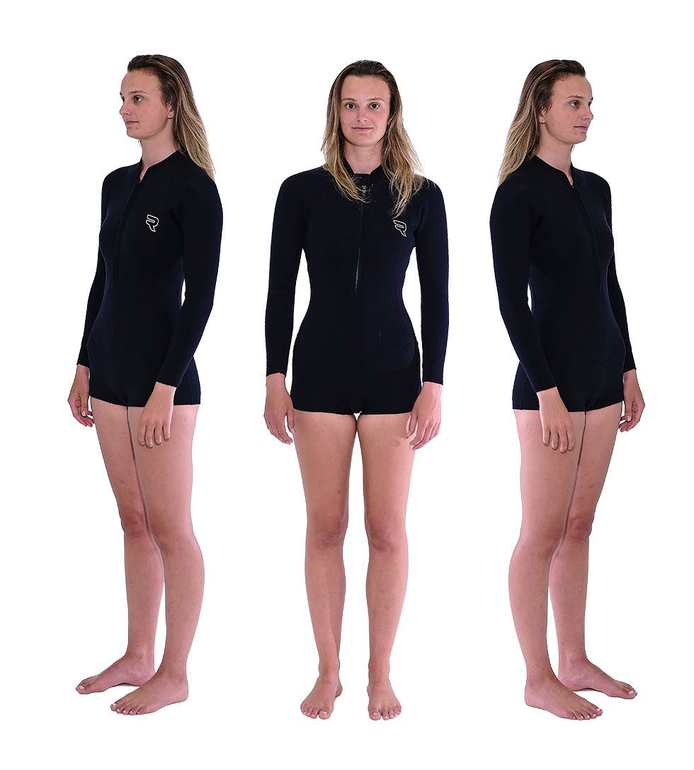 Womens 2/2 Front Zip Springy - The Surfboard Warehouse Australia