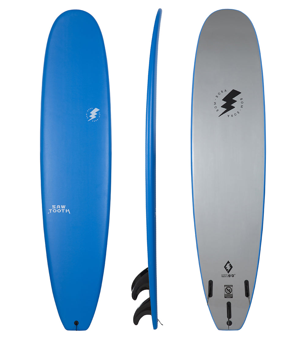 BOM BORA SAW TOOTH SOFTBOARD 9'0