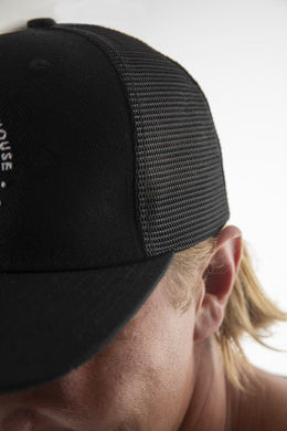 TSBW FLAT PEAK TRUCKER CAP - The Surfboard Warehouse Australia