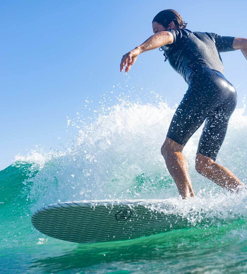 SNUB NOSE - ECO TECH - FUNBOARD - The Surfboard Warehouse Australia