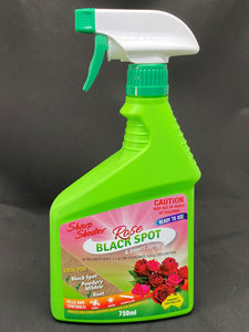 Black Spot and insect spray