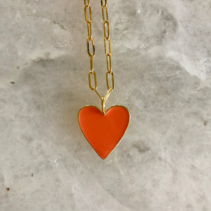 Full Hearts Necklace - Large