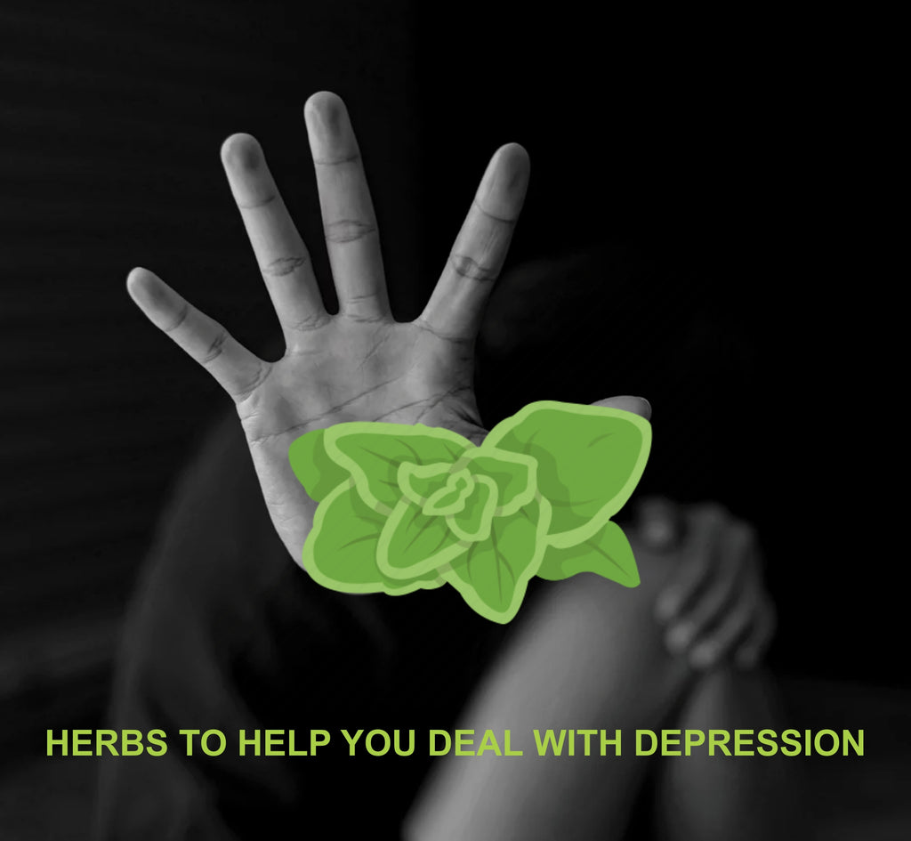 Ten Natural Herbs that would Help you Deal with Depression