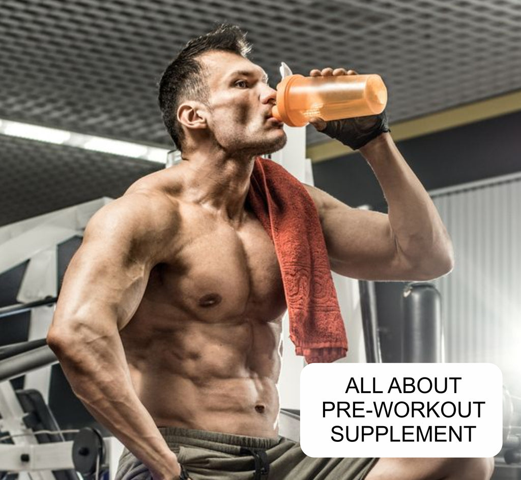 How Pre-Workout helps to build a body