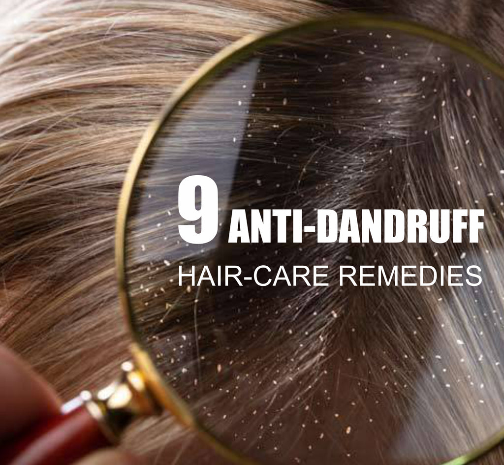 9 anti-dandruff hair-care remedies you should follow using just herbs and natural ingredients