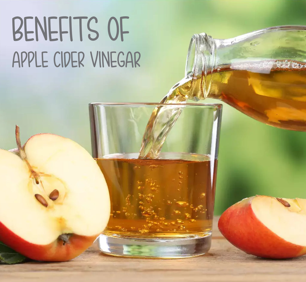 Benefits of organic apple cider vinegar for adults