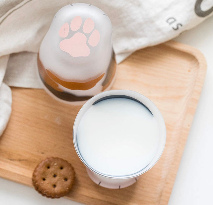 Cute Cat Paw Milk Cup Bottle Foot Pads