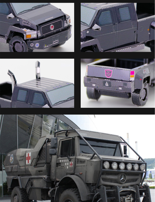 YM-L064-Movie Style Mini Vehicle 6 Styles