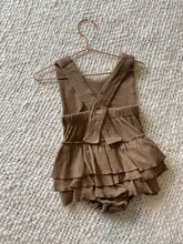 Load image into Gallery viewer, Coastal Romper ~ CHOCOLATE