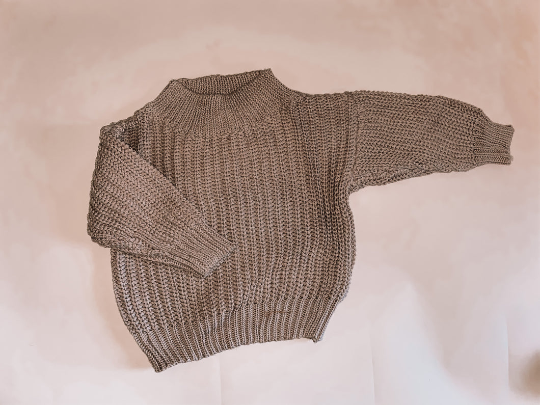 Chunky Knit - Coffee