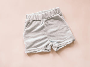 Terry shorts - ice blue