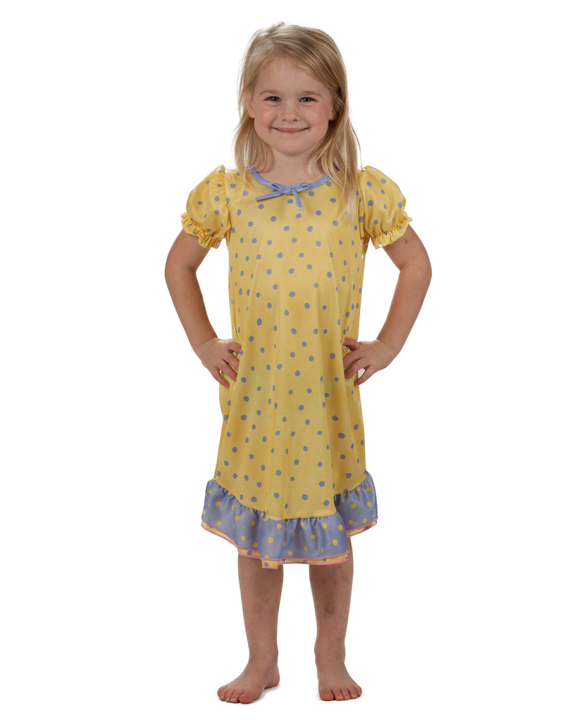 Laura Dare Buttercup Puff Sleeve Nightgown (2T - 10) - Laura Dare - Laura Dare Sleepwear