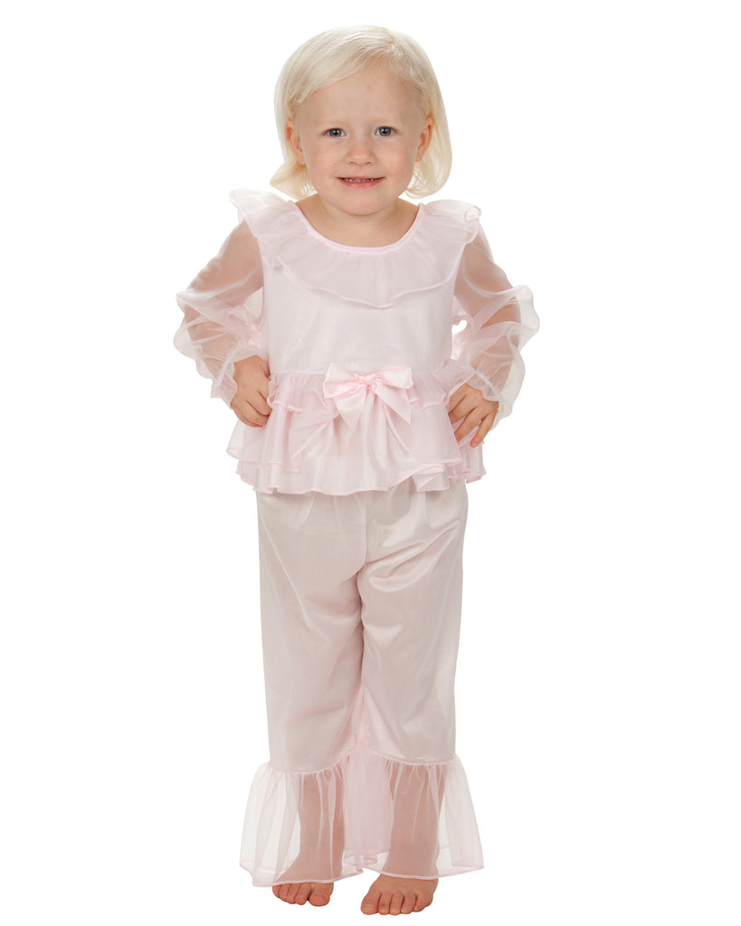 Laura Dare Sleepy Time Princess Frilly Pajama - Laura Dare - Laura Dare Sleepwear