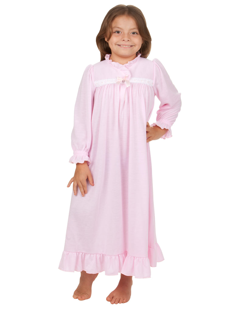 Five Nights at Freddy's 'Scary Cute' Raglan Pajama Nightgown (Little Girls & Big Girls) See Details Product - Girls Dream Castle Dressy Gown, Fancy Nightgown Sizes