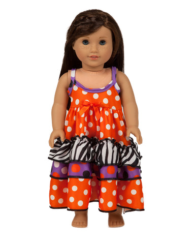 Build-A-Bear and American Girl Doll Gowns | Laura Dare Sleepwear - Black