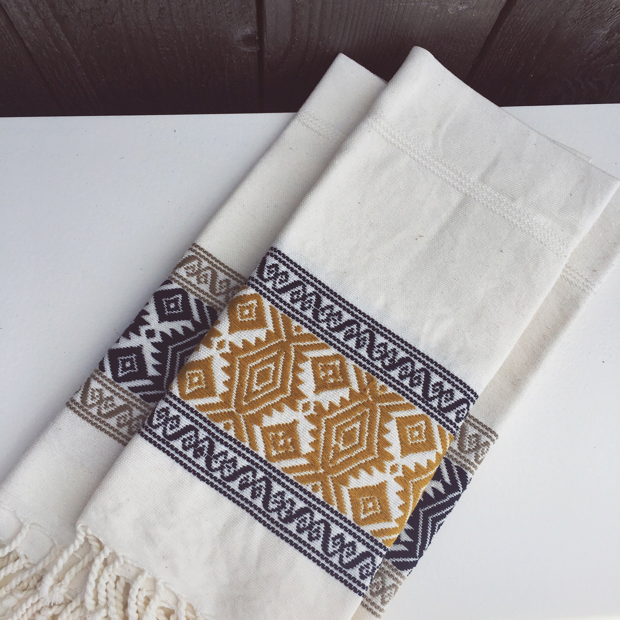 Handwoven Kitchen Towel From Guatemala