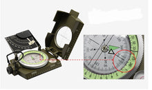 Load image into Gallery viewer, 100% Brand New Camping Hiking Water Survival Military Compass Camping Hiking Compass Geological Compass