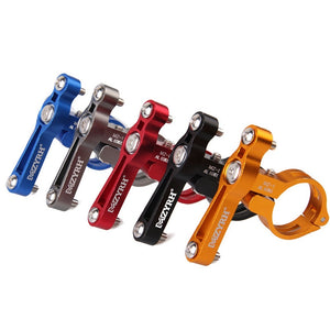 Bike Bicycle MTB Water Bottle Clip Cage Holder Clamp Handlebar Bracket Mount
