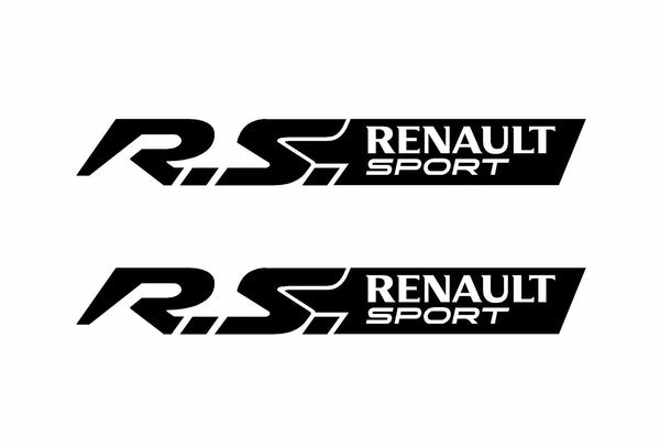 2x Renault Sport 21x3cm Aufkleber Car Window Bumper Sticker Vinil 229