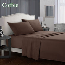Load image into Gallery viewer, 2019 Cotton Warm Bedding Sets 1800 Thread Count Sheets Deep Pocket Queen Sheets Fitted Sheets Queen King Sheets Beds Sheet Sets Bedding