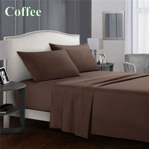 2019 Cotton Warm Bedding Sets 1800 Thread Count Sheets Deep Pocket Queen Sheets Fitted Sheets Queen King Sheets Beds Sheet Sets Bedding