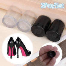 Load image into Gallery viewer, 2Pcs/Set High Heel Protector Non Slip Cover Women Shoe Stopper Stiletto Wedding Party