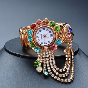 Luxury Rhinestone Bracelet Watch Women Watches Ladies Wristwatch Relogio Feminino Reloj Mujer Montre Femme Clock