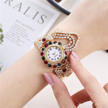Load image into Gallery viewer, Luxury Rhinestone Bracelet Watch Women Watches Ladies Wristwatch Relogio Feminino Reloj Mujer Montre Femme Clock