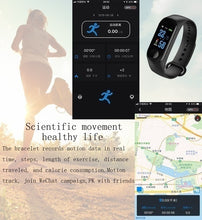 Load image into Gallery viewer, Smart Wristband Fitness Bracelet Heart Rate Monitor Activity Tracker Smart Band Sport Watch