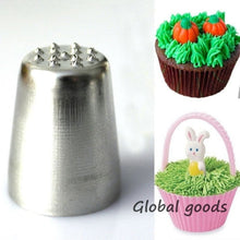 Load image into Gallery viewer, 2pc Grass Sugar Fondant Cake Decorating Baking Tips Icing Pastry Tool Piping Nozzles
