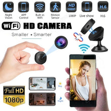 Load image into Gallery viewer, Newest 1080P HD Mini WIFI Hidden Camera Wireless Ip Camera Micro Camera Video Photography Motion Sensor Camcorders DVR Infrared Security Survillance Night Vision Camera