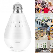 Load image into Gallery viewer, High Quality!!! 1.3 Million Pixels 960P HD Wifi Panoramic Light Bulb Camera Home Security Camera