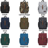 Casual Men's Large Capacity Travel Backpack Outdoor Backpack Canvas Double Shoulder Bag School Backpack