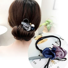 Load image into Gallery viewer, 1PC Women Flower Donut Bun Maker DIY Hair Style Making Tools Korean Fashion Style Hair Curler Accessories